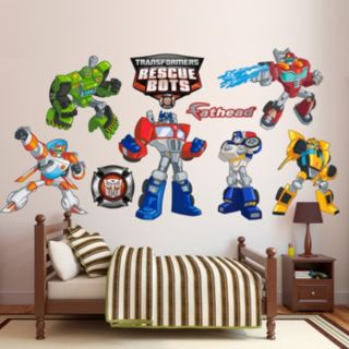 Transformers Rescue Bots Collection Wall Decals by Fathead