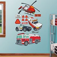 Tonka Rescue Vehicles Collection Wall Decals by Fathead