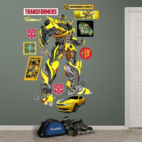 Transformers: Age of Extinction Bumblebee Wall Decals by Fathead