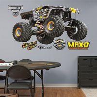 Monster Jam Maximum Destruction Wall Decals by Fathead