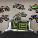 Monster Jam Trucks Collection Wall Decals by Fathead