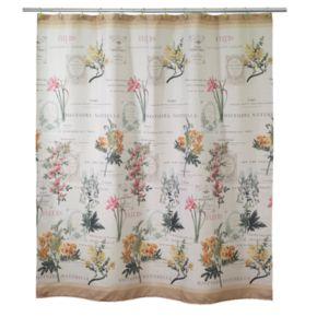 Avanti Alana Fabric Shower Curtain