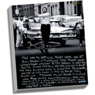 "Steiner Sports New York Yankees Joe Pepitone Stickball Facsimile 22"" x 26"" Stretched Story Canvas"