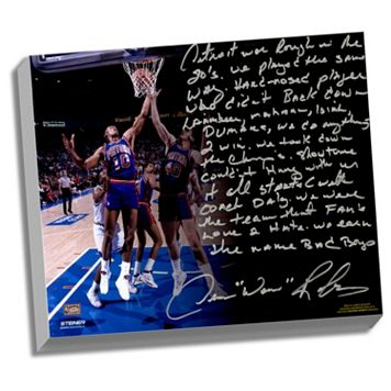 Steiner Sports Detroit Pistons Dennis Rodman The Bad Boys Facsimile 22