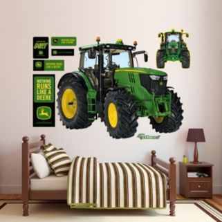 John Deere 6210R Tractor Wall Decals by Fathead