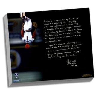 "Steiner Sports St. Louis Cardinals Ozzie Smith Flip Facsimile 22"" x 26"" Stretched Story Canvas"