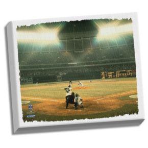 "Steiner Sports Atlanta Braves Hank Aaron ""715"" 32"" x 40"" Stretched Canvas"