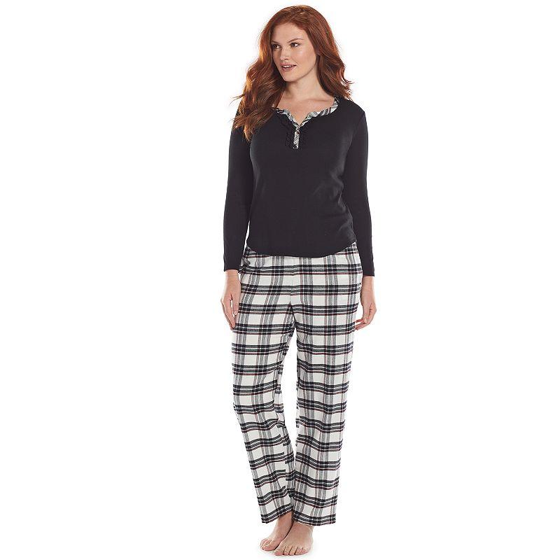 Womens Flannel Pajamas | Kohl's