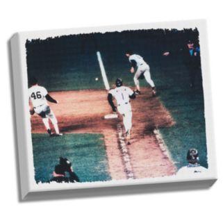 """Steiner Sports Bill Buckner and Mookie Wilson 32"""" x 40"""" Stretched Canvas"""