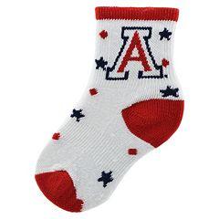 Baby Mojo Arizona Wildcats 'I'm a Star' Cushioned Crew Socks