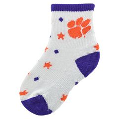 Baby Mojo Clemson Tigers 'I'm a Star' Cushioned Crew Socks