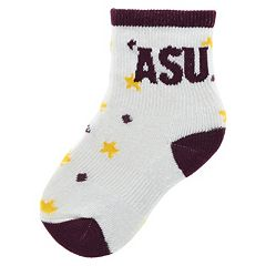 Baby Mojo Arizona State Sun Devils 'I'm a Star' Cushioned Crew Socks