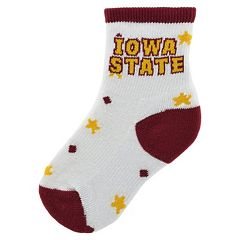 Baby Mojo Iowa State Cyclones 'I'm a Star' Cushioned Crew Socks