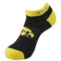Men's Iowa Hawkeyes Spirit No-Show Socks