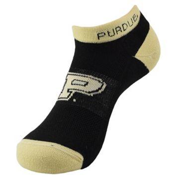 Men's Purdue Boilermakers Spirit No-Show Socks