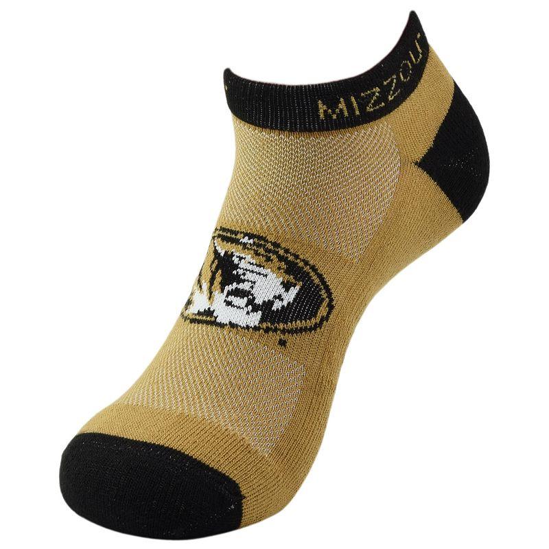 Missouri Tigers Spirit No-Show Socks - Men