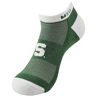 Michigan State Spartans Spirit No-Show Socks - Men