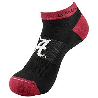 Men's Alabama Crimson Tide Spirit No-Show Socks