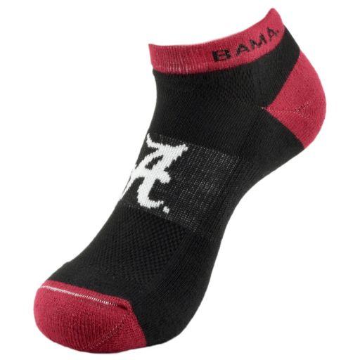 Men's Alabama Crimson Tide Spirit No-Show Socks