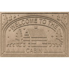Dirtstopper Plus Welcome to the Cabin Doormat - 23'' x 35''