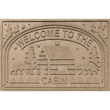 Dirtstopper Plus Welcome to the Cabin Doormat - 23'' x 35''