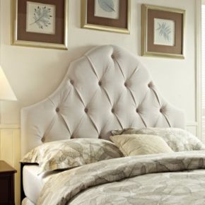 Pulaski Samuel Lawrence Round Top Panel Headboard