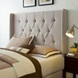Pulaski Samuel Lawrence Winged Headboard