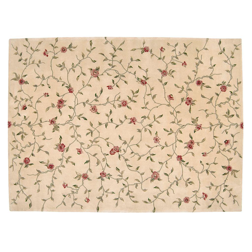 Nourison Julian Floral Vine Wool Rug
