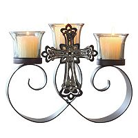 Jeweled Artisan 3-Candle Votive Candelabra