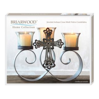 Jeweled Artisan 3-Candle Votive Candelabra
