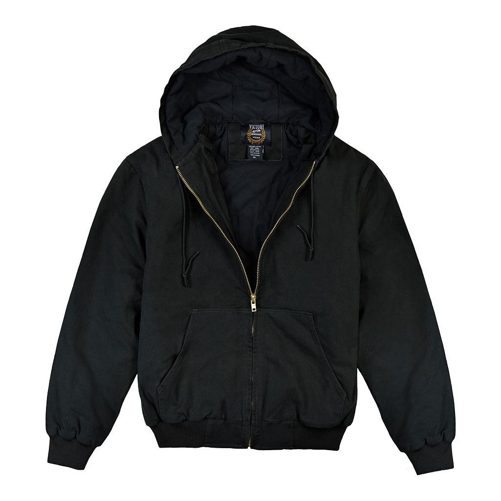 Men's Victory Rugged Wear Hooded Jacket