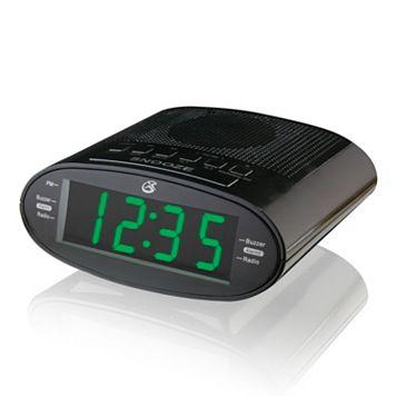 GPX AM / FM Dual Alarm Clock Radio