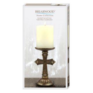 ''Faith'' Cross Pillar Candleholder