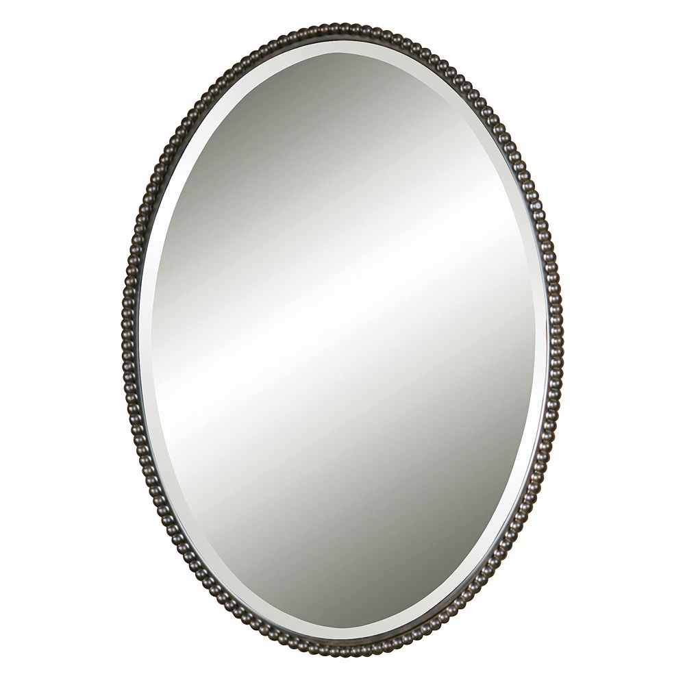 Uttermost Sherise Beaded Beveled Wall Mirror