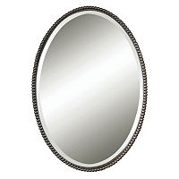 Sherise Beaded Beveled Wall Mirror