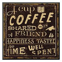 Art.com ''Coffee Quote I'' Wall Art
