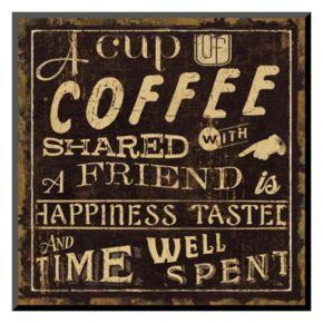 Art.com ''Coffee Quote I'' Wall Art