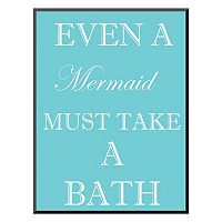 Art.com ''Mermaid Must Bathe'' Wall Art