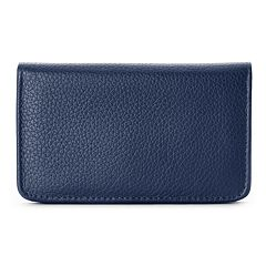 Buxton Hudson Pik-Me-Up Leather Snap Card Case