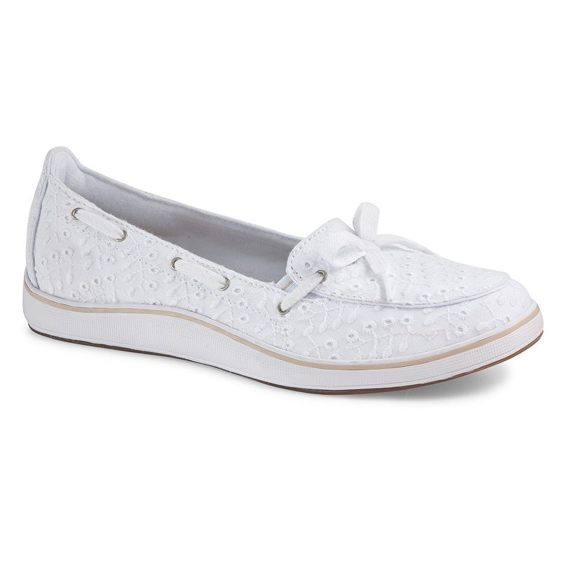 Wide Width Canvas Boat Shoes