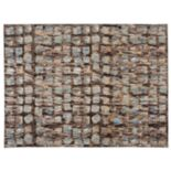 Nourison Modesto Abstract Mosaic Plush Rug