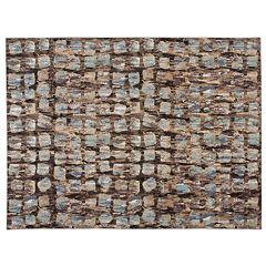 Nourison Modesto Abstract Mosaic Plush Rug