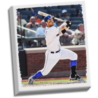 """Steiner Sports New York Mets David Wright 32"""" x 40"""" Stretched Canvas"""