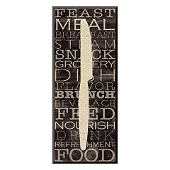 Art.com ''Kitchen Words III'' Wall Art