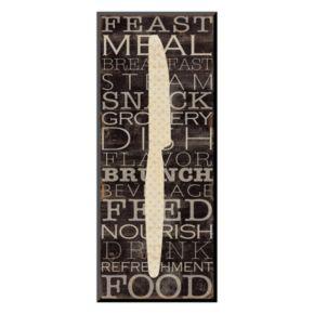 Art.com ''Kitchen Words III'' Wall Art