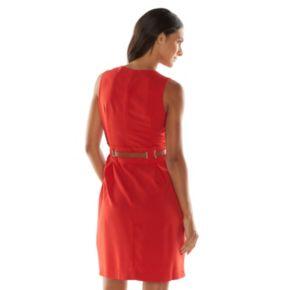Sharagano Pleated Shirtdress - Women's
