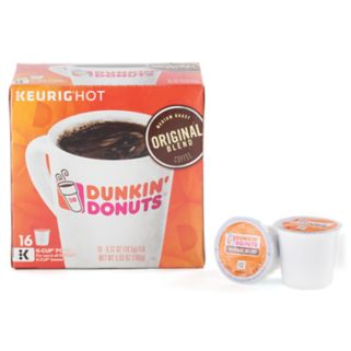 Keurig K-Cup Portion Pack Dunkin' Donuts Original Blend Coffee - 16-pk.