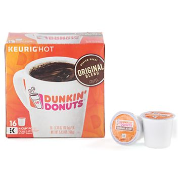 Keurig® K-Cup® Portion Pack Dunkin' Donuts Original Blend Coffee - 16-pk.