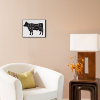 Art.com ''Cow'' Wall Art