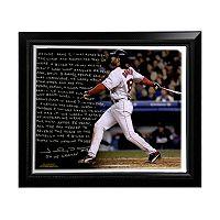 Steiner Sports Boston Red Sox Johnny Damon Reverse the Curse Facsimile 22